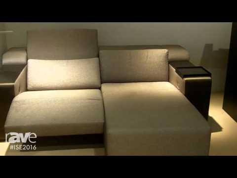 ISE 2016: CINEAK Details strato + Entertainment Sofa