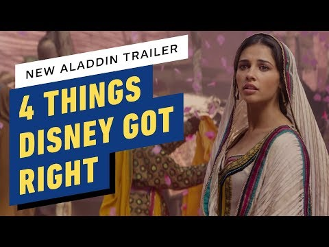 New Aladdin Trailer: 4 Things Disney Got Right