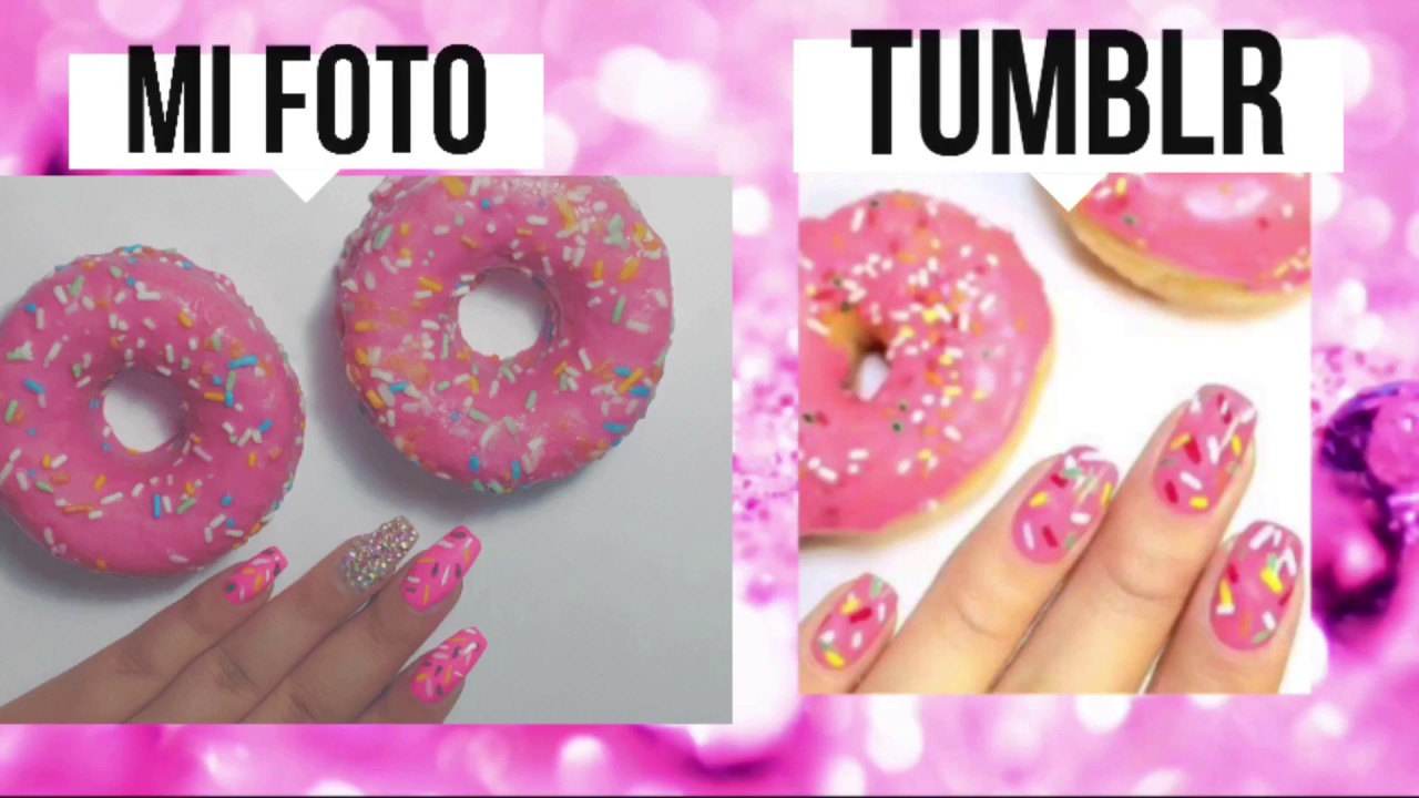 Imitando Fotos Tumblr Nails Uñas