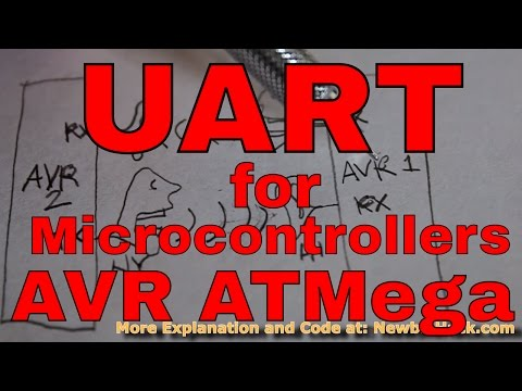 47. Arduino for Production! How to Communicate with UART - Tutorials for the AVR Microcontroller