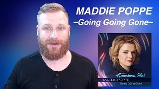 Maddie Poppe - Going Going Gone | Reaction