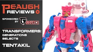 Video Review: Transformers: Generations Selects - TENTAKIL