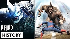 History of the Rhino in Spider-Man Games (2000-2018)