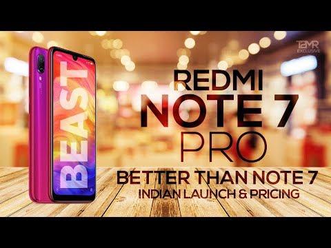 Redmi Note 7 Pro vs Redmi Note 7 | Specifications | Price | Launch Date in India | Camera