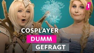 Cosplayer sind alle Freaks! | 1LIVE Dumm Gefragt