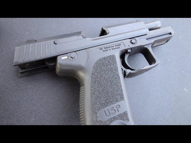 実弾射撃 H&K USP コンパクト 9mm (HK USP Compact 9mm)