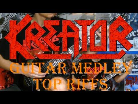 KREATOR - Top 30 Riffs - Guitar Medley (FULL HD)
