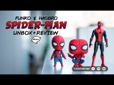 Unboxing + Review - Spider-Man Far From Home Toys