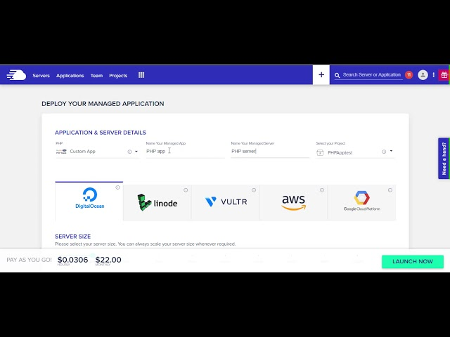 How to Launch PHP Servers on DigitalOcean