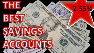 The BEST SAVINGS Accounts