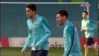 Traning FC Barcelona - Тренировка Барселоны