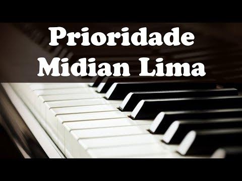 PRIORIDADE - MIDIAN LIMA (CIFRA SIMPLIFICADA) #teclado
