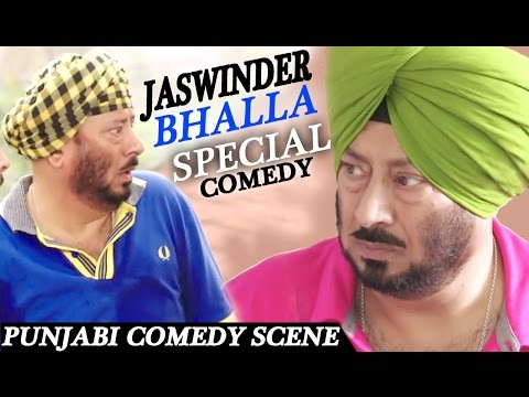 JASWINDER BHALLA COMEDY  Punjabi Comedy Scenes   Lokdhun Punjabi