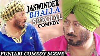 JASWINDER BHALLA COMEDY || Punjabi Comedy Scenes 2017 || Lokdhun Punjabi