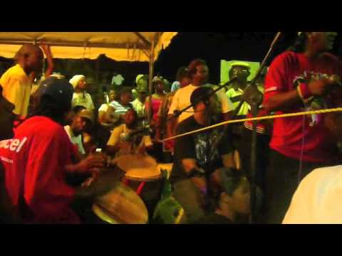Calinda drumming - Trinidad