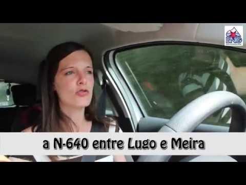 (4-9-2016) Unha caravana percorreu o tramo Lugo - Meira para pedir o arranxo da N-640