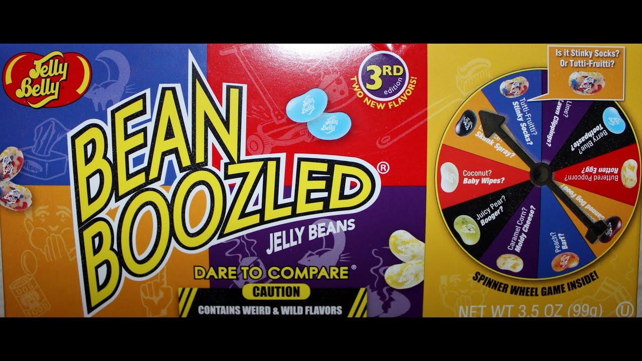 Bean Boozled Spinner Game Challenge 3rd Ed Youtube