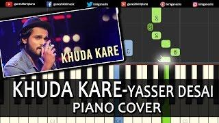 Khuda Kare Yasser Desai|Song|Piano Chords Tutorial Lesson Instrumental Karaoke By Ganesh Kini