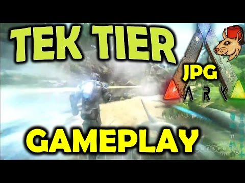 ARK Survival Evolved Tek Tier Gamespot Game Play Reaction