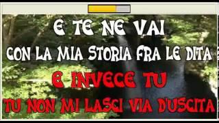 La mia storia tra le dita Gianluca Grignani karaoke