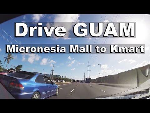 GUAM - Micronesia Mall to Kmart.  Drive Guam #24
