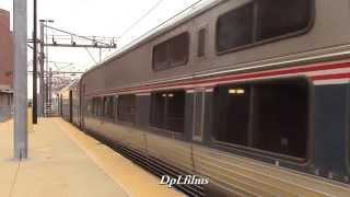 Amtrak and MBTA at South Station, Boston, MA 1/3/15
