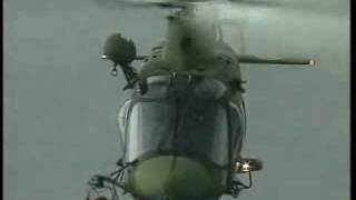 Augusta/Westland A109 LUH conducting flying manouvers and lifting