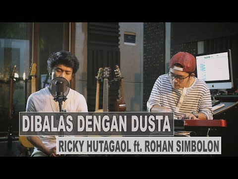 RICKY THE MISKA - DIBALAS DENGAN DUSTA (Cover)  ft. ROHAN SIMBOLON
