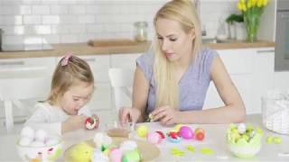 Color Song #nurseryrhymes for Children #learncolors with Eggs Painting #woavideos 色の歌 - 赤ちゃん 童謡