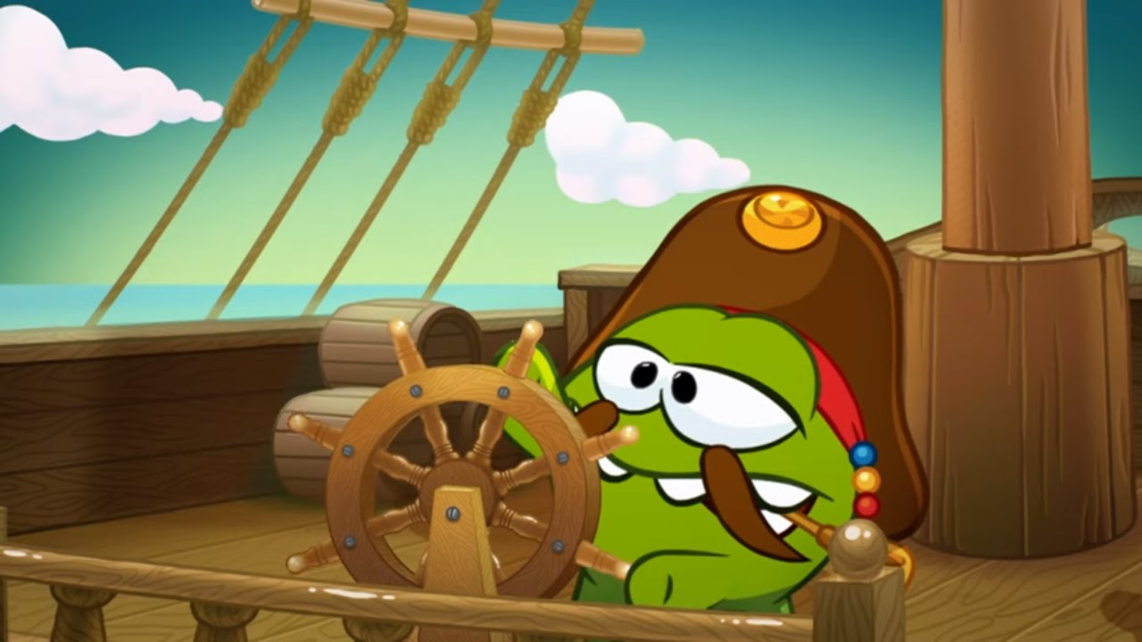 Om Nom Stories (Cut the Rope) - Pirate Ship (Episode 14, Cut the Rope: Time Travel)
