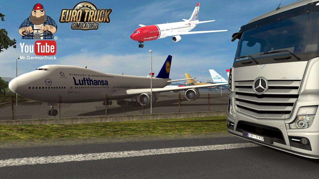 [ETS2 v1.36] Real Aircraft Texture *realism Mod*