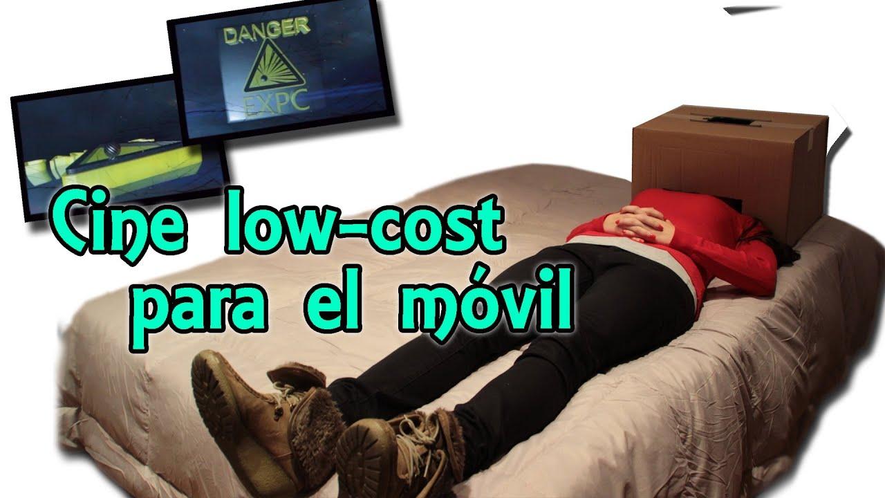Cine low cost para el m vil o celular cine m vil casero experimentos caseros youtube - Como hacer unas fundas para el sofa ...