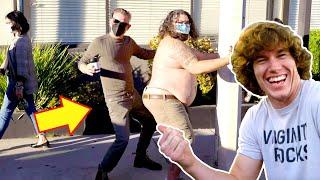 Dancing on Strangers prank!