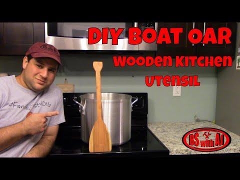DIY Wooden Kitchen Utensils