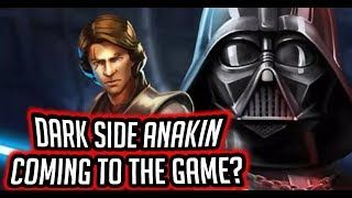 Dark Side Anakin Skywalker Coming to the Game? Hero's Fall Journey? | Star Wars: Galaxy of Heroes