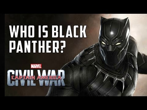 Captain America: Civil War - Who is Black Panther?