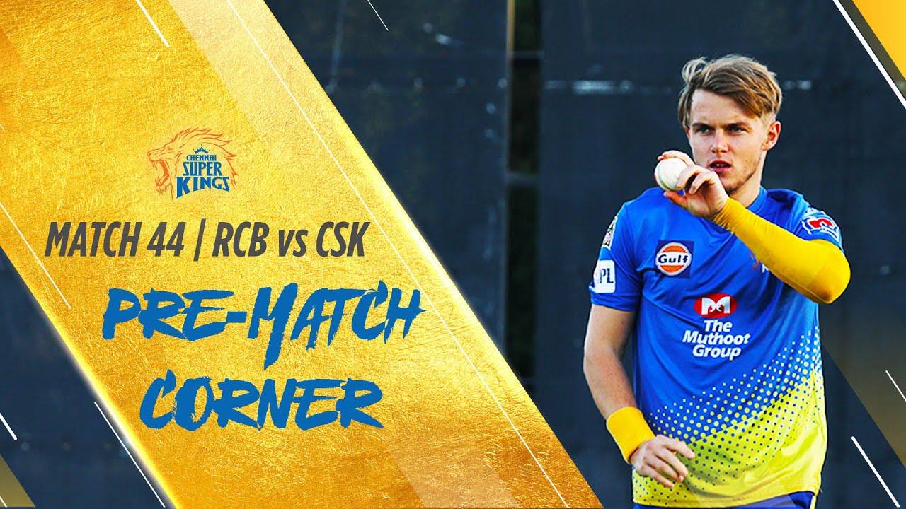IPL 2020: Match 44: Pre-match corner: RCB vs CSK #Whistlepodu #Yellove