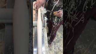 자작나무 생목으로 의자 다리 만들기 / 그린우드터닝