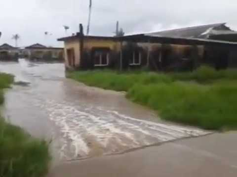 Ayetoro community flooded for days after sea surg