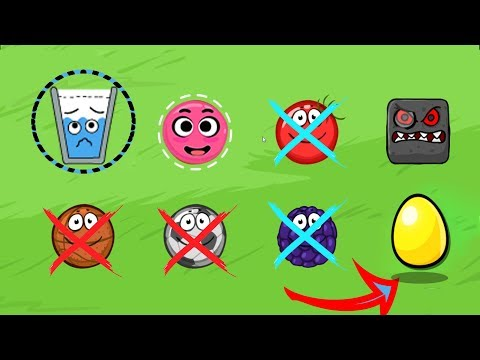 Happy Glass vs Love Balls in Red Ball 4 EPISODE 1 PERFECT 'GREEN HILLS' Game For Kids
