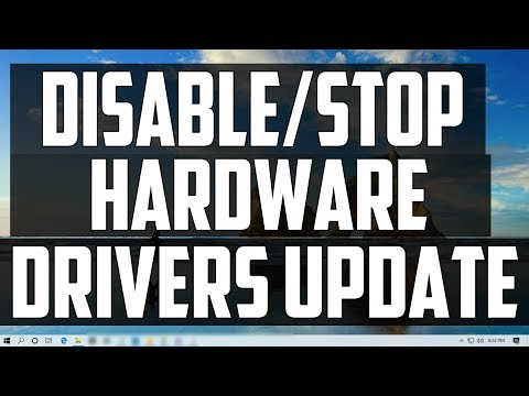 How to Disable/Stop Automatically Hardware Drivers Update in Windows 10