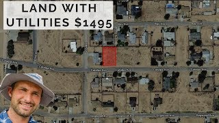 Cheapest Land in Kern County California With Utilities