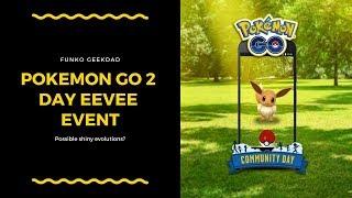 Pokemon Go Community Day Featuring Eevee