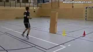Balonmano: Entrenamiento de finta y técnica