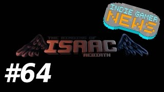 The Binding of Isaac: Rebirth - #64 - Collar Save - Indie Gamer News