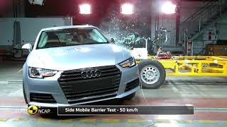 Euro NCAP Crash Test of Audi A4/A5