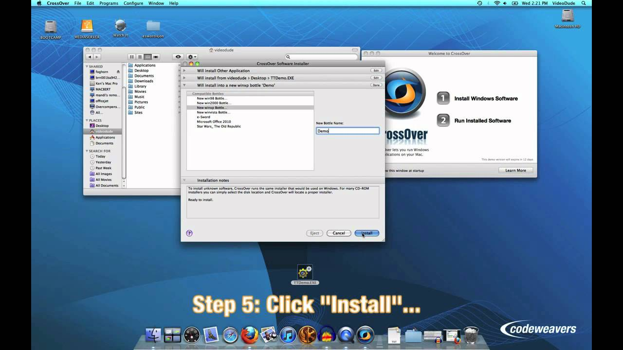 How To Install Unsupported Software in CrossOver Mac | Online Video