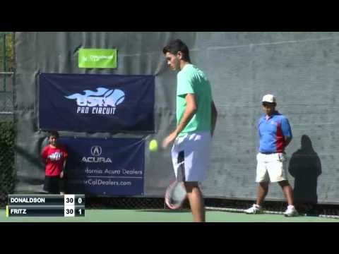 ATP 2015 Sacremento Challenger Final Fritz Vs Donaldson FULL MATCH