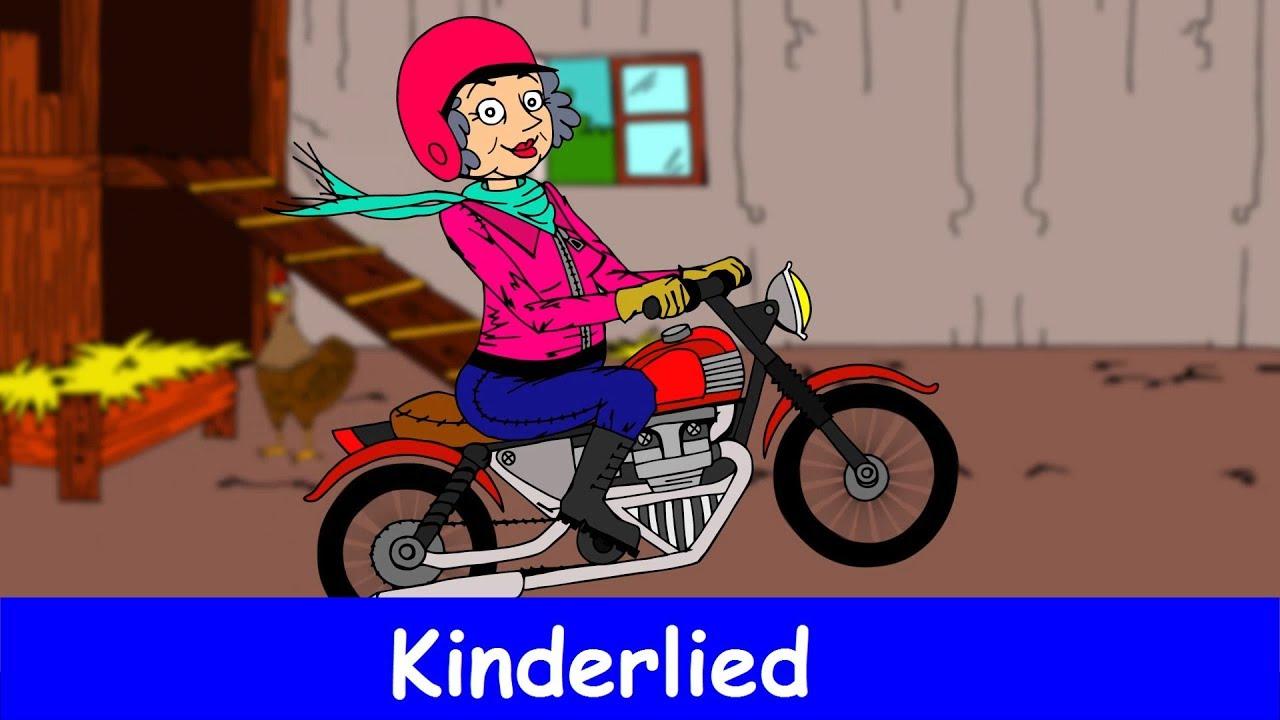 Meine Oma Fährt Im Hühnerstall Motorrad Liedtext