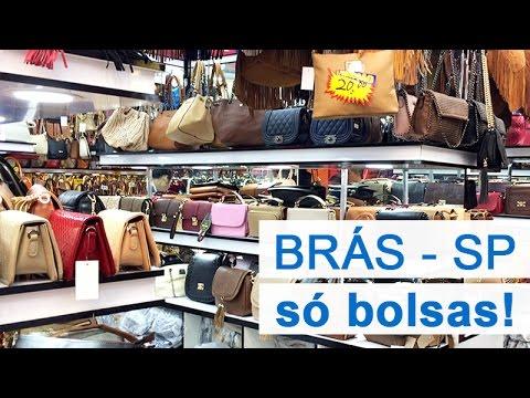 cce3f5896 Brás - Onde comprar Bolsas - muito barato!!! - YouTube